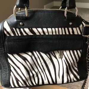 Rebecca Minkoff calf hair/ leather